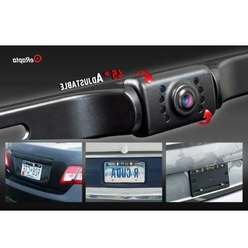 eRapta License Vision Car Reverse Rear