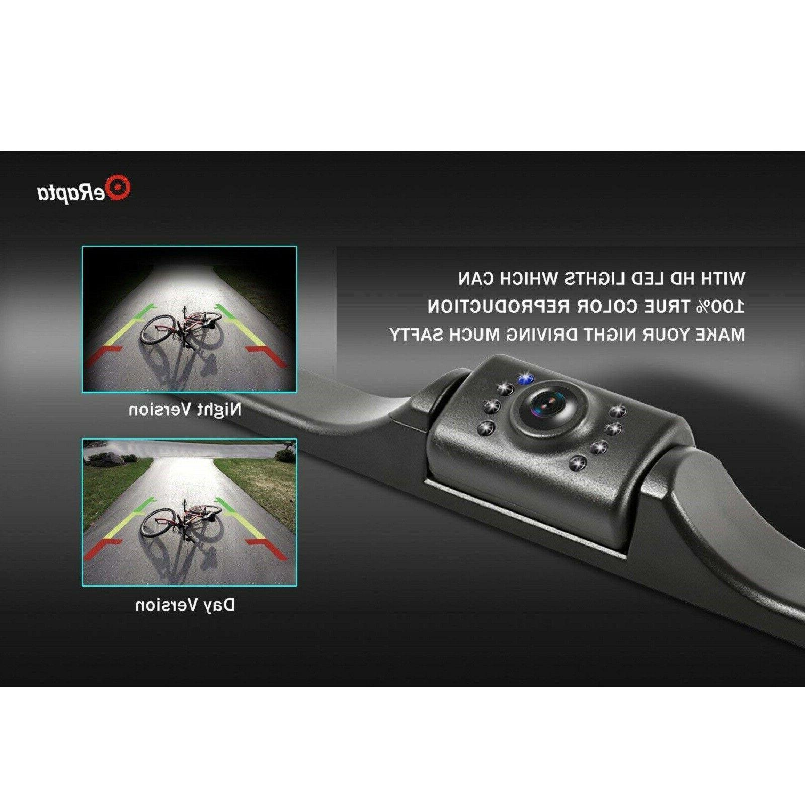 eRapta Camera Waterproof License Vision Car Reverse Rear