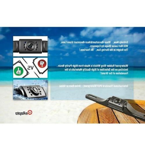 eRapta Camera License Plate View Vision Car Reverse
