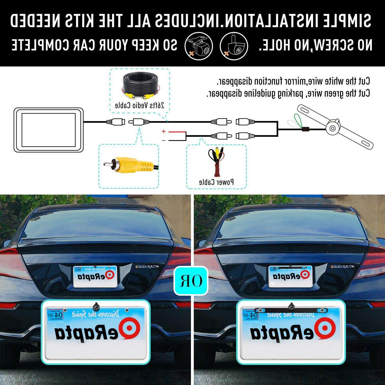 eRapta Backup Rear Front Waterproof