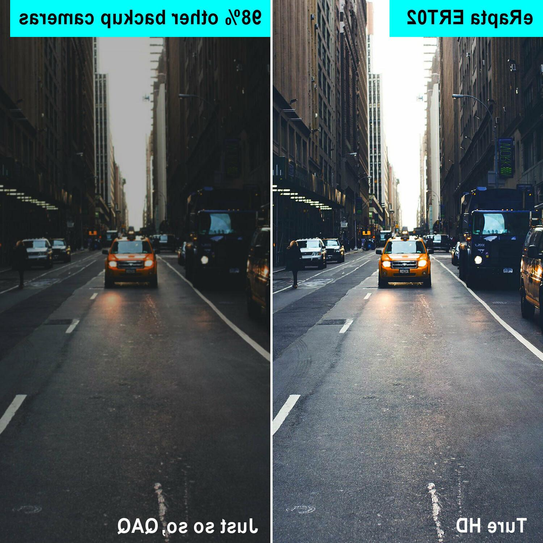 eRapta Car Camera Backup Rear View Front 149° Waterproof