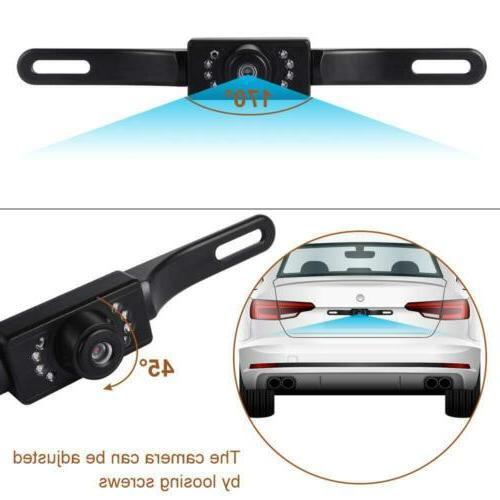 170° Car Backup Reverse CMOS Waterproof