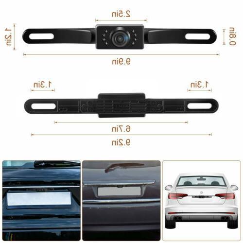 170° View Backup Parking Reverse CMOS HD Night Waterproof