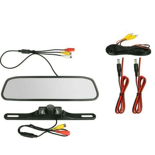 "4.3"" Backup Parking Rear View Reverse Vision"