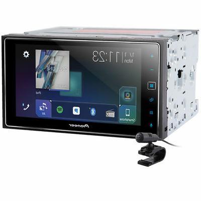 Pioneer MVH-1400NEX Digital Multimedia Video Receiver Apple