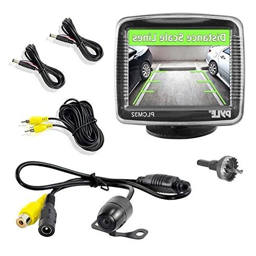 Pyle Backup Car Camera  Rearview Monitor System - Parking an
