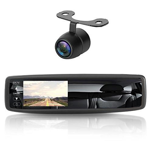 Pyle Wireless Backup Camera Rearview System Reverse Safety Distance Scale Lines, Waterproof & Vision Cam, Display -