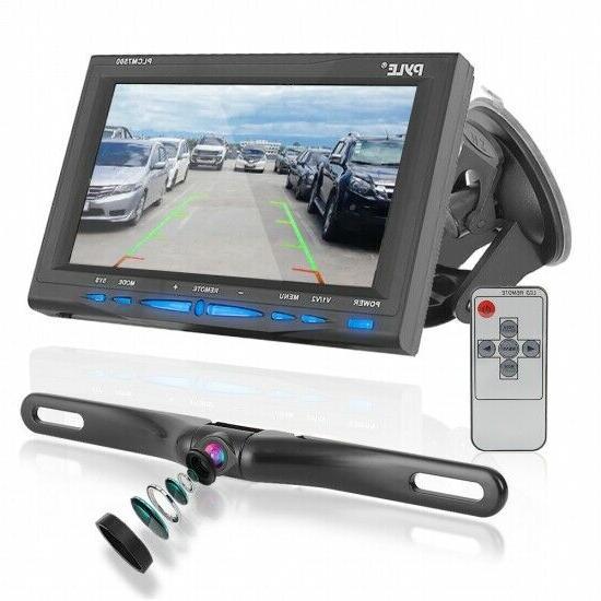 plcm7500 7 lcd backup rearview camera parking