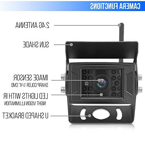 Pyle Camera & Video System with Wireless Transmission, Waterproof Cam, Vision,