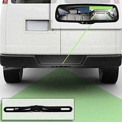 Rearview Parking Camera Display