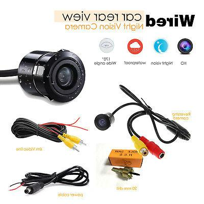 170° Back up Camera 480TVL Color Night Vision For Universal