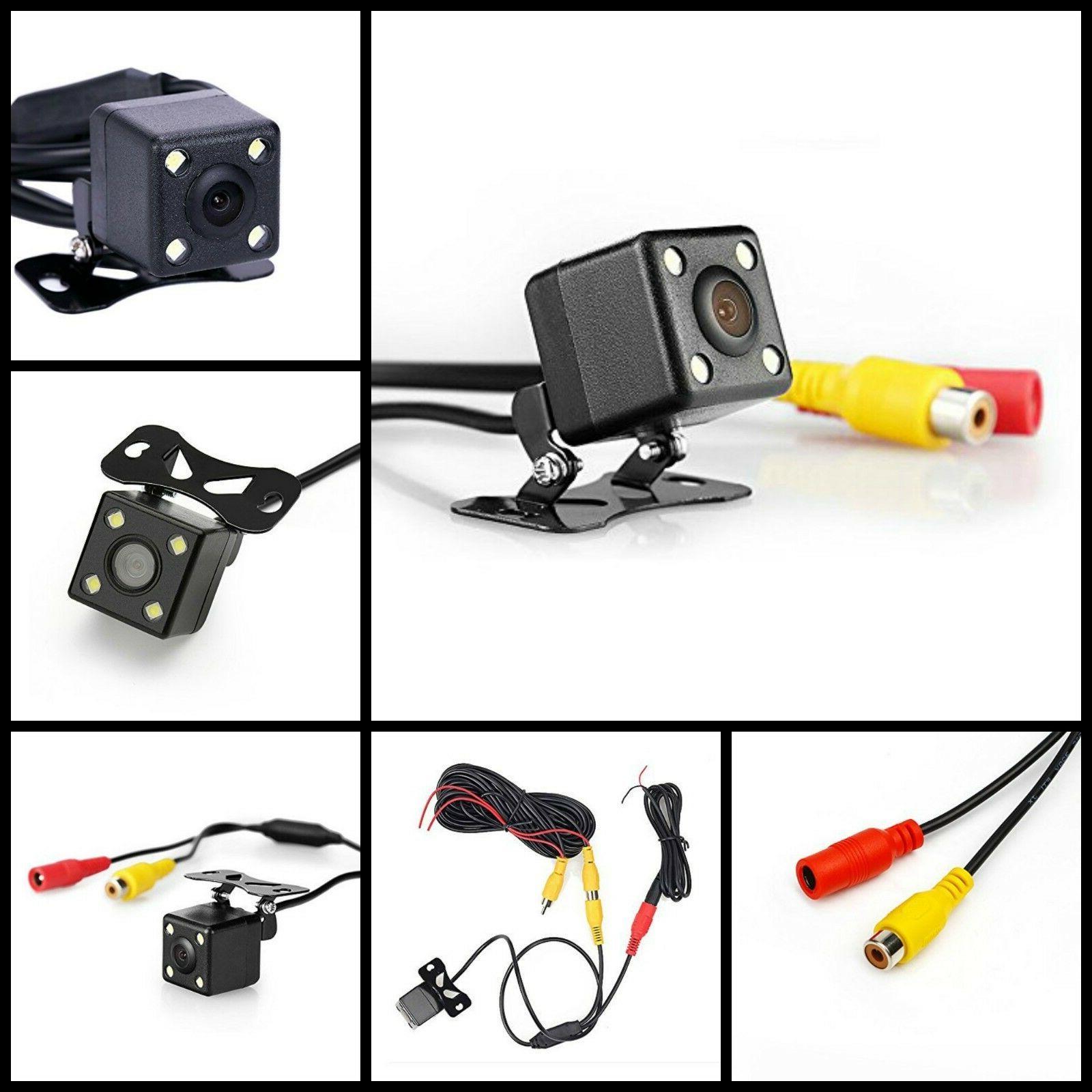 Universal Vehicle Night Vision Backup Camera Car Rear View 1