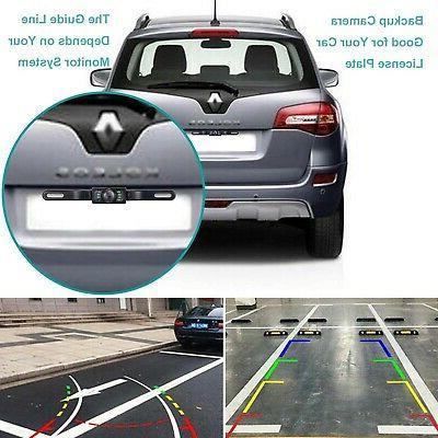 Vehicle License Backup Camera - View Reverse