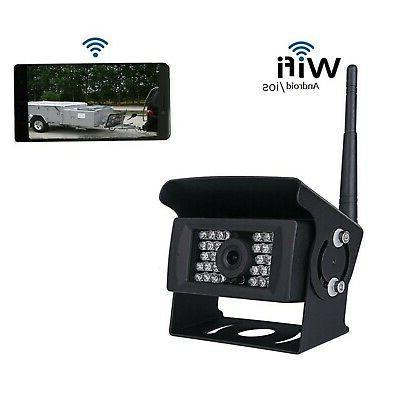 wifi wireless rear camera 12v 24v backup