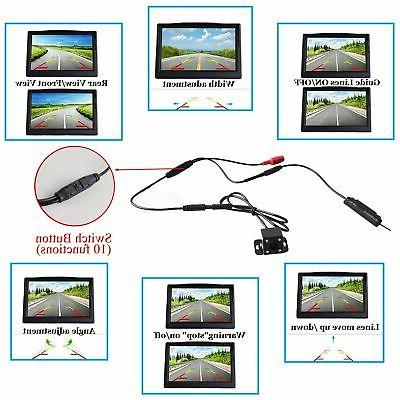 "Wireless Camera 4.3"" Monitor Windshield"