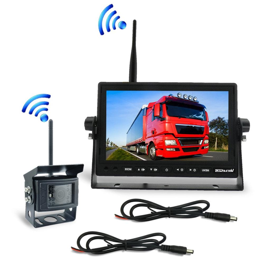 wireless backup camera system 7 wide lcd