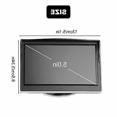 "Wireless Car Rear View HD System Night 5"""
