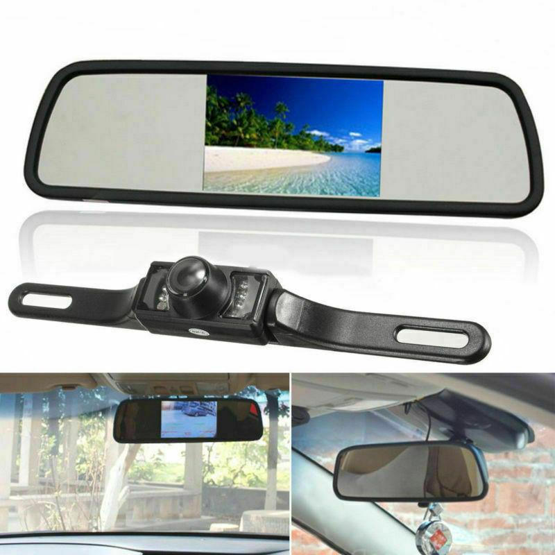 """Wireless Rear View Vision + 4.3"""" Monitor"""