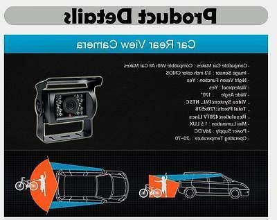 "7"" +Wireless Rear Backup Night Vision RV Truck"