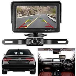 LeeKooLuu Backup Vehicle Cameras Camera And Monitor Kit For