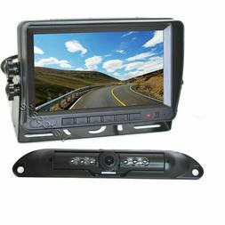 License Plate Backup Camera System with Self Standing Monito