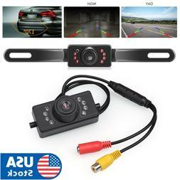 License Plate Car Rear View Backup Camera Parking Reverse Ca