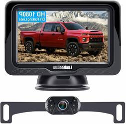 LeeKooLuu LK3 HD 1080P Backup Camera with Monitor Kit OEM Dr