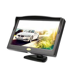 Backup Camera Monitor,RAAYOO S5-001 5 inch High Definition T