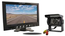 TadiBrothers 7 Inch Monitor and a 120 Degree Mounted RV Back