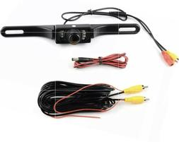 new rear view camera backup license plate