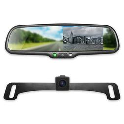 """Master Tailgaters OEM Rear View Mirror with 4.3"""" LCD Scree"""