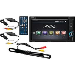 Planet Audio P9628bwrc 6.2 Double-din In-dash Dvd Receiver W