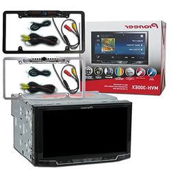 "Pioneer Double DIN MVH-300EX 7"" Touchscreen Digital Media St"