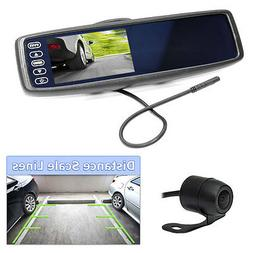 Pyle Wireless Backup Car Camera Rearview Mirror Monitor Syst