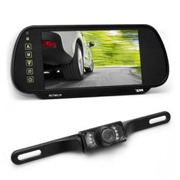 PLCM7200 Backup car camera & Rear View Mirror Monitor Electr
