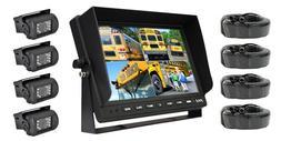 Pyle PLCMTR104 Weatherproof Rearview Backup Camera System wi