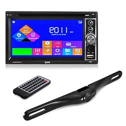 Premium Pyle 6.5-Inch Double Din Car Stereo with Bluetooth R