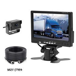 Camecho RC 12V 24V Car Backup Camera Aviation 4 Pins Interfa
