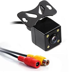 Rear View Camera, GerTong Color HD 170° Wide Angle Viewing
