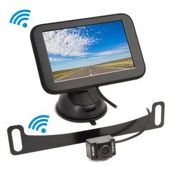SV Wireless Backup Camera with Monitor System 5'' LCD Rear V