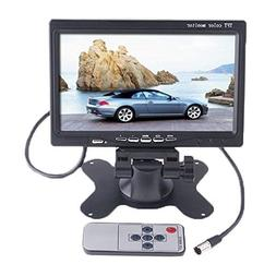 """7"""" TFT LCD Color 2 Video Input Car RearView Headrest Monitor"""