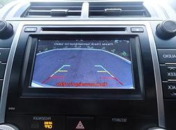 Toyota Camry SE and XLE Integrated Backup Camera Kit 2012 20