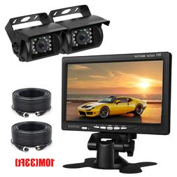 """Truck/Bus/RV/Camper/Commercial Vehicle Backup Camera + 7"""" Mo"""