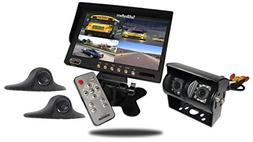 Tadibrothers 9 Inch Ultimate RV Backup Camera System with Do