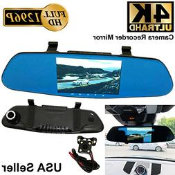4K ULTRA 5 in Full HD 1296P Blue 300mm Auto Front/Back Up Re