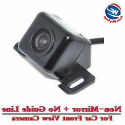 Universal Car Front View Camera  CCD Color Vehicle Camera Ba