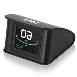 "Universal Vehicle Smart HUD Display - 2.6"" Digital Mini Car"