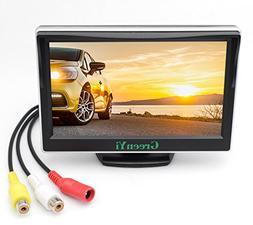 "GreenYi Vehicle On-dash Video Monitor, 5"" HD Car TFT LCD Col"