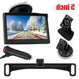 """Vehicle Waterproof Night Vision Backup Camera and 5"""" Monitor"""
