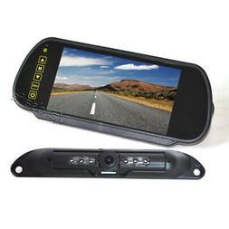 Vardsafe VS408K License Plate Backup Camera System with Clip